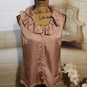 Violet & Claire mauve blouse
